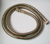 Large Bore Gold Effect Metal Shower Hose 1.5 Metre - 50600340